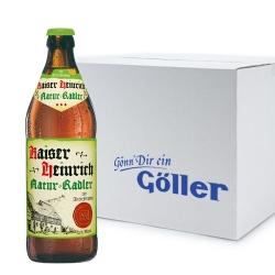 Kaiser Heinrich Natur Radler 20er Karton