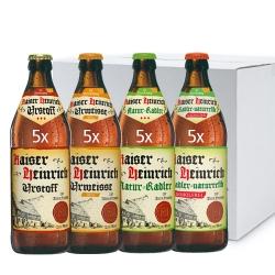Kaiser Heinrich Mixkarton 20 Flaschen